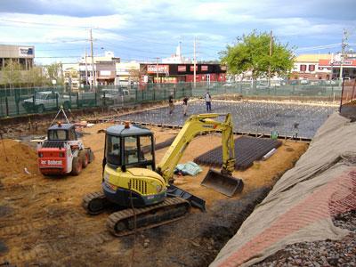 TRAK Construction Site