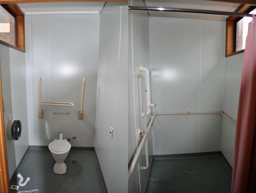 Flinders Lodge - Bathroom old